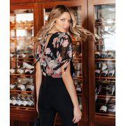 Blusa Diana Crepe Floral