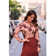 Blusa Juliana Crepe Floral