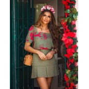 Blusa Larissa Crepe Floral