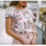 Blusa Marisa Viscose Print Floral