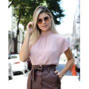 Blusa Milena Crepe Detalhe Laço