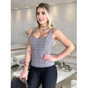 BLUSA MILENA XADREZ WINTER CHATELE
