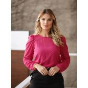 Blusa Monica Crepe MG Longa +Regata