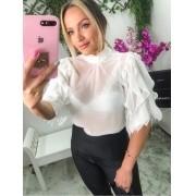 Blusa Morina Chiffon Multibabado