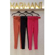 Calça  Karmani  Power Skinny + Cinto Forrado