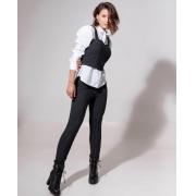 Calça  Skinny Thalia Moletinho Jeans 8% Elastano