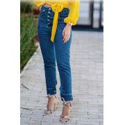 Calça  Unique Jeans Botões