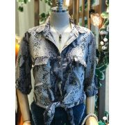Camisa Celia Viscose Animalprint