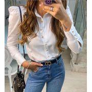 Camisa Hit Tricoline Acinturada  3%Elastano