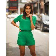 Conjunto Denise Crepe  Shorts Forrado