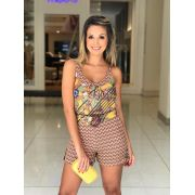 Conjunto Melina Crepe Regata & Shorts