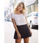 SHORTS  LIA CREPE POA ROSE