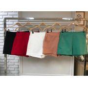 Shorts  Monica Alfaiataria     97% algodão e 3%elastano