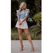 Shorts Saia Morina Jacquard 3% Elastano