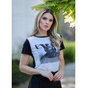 T-Shirt  Elle Nuxx Crepe +Viscolycra