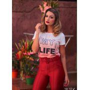 T-shirt Life Viscolycra