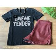 T-SHIRT LOVE ME TENDER