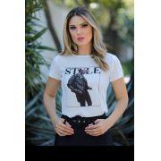 T-Shirt Nuxx Crepe  Estampa Style