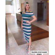 Vestido  Andressa  Tricot  Ombro a Ombro