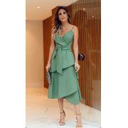 Vestido  Clara Viscolinho+ Faixa