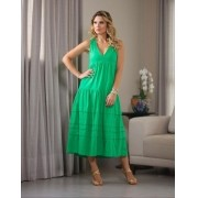 Vestido Esmeral Linho
