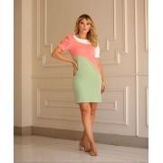 Vestido Flavia Tricolor