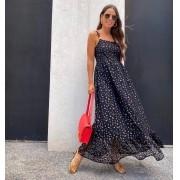 Vestido Leblon Bicho Renda C/ Forro Detalhe Alça