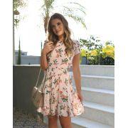 Vestido LEILA  Crepe Floral