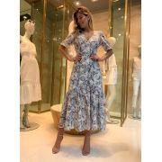 Vestido Mirella Longo Laise Print