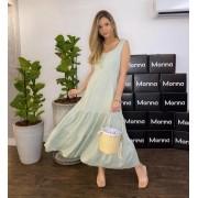 Vestido Morina Linho Camadas