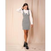 Vestido  Morina Xadrez  4% Elastano