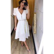 Vestido  Rafaela  Laise c/ Cinto
