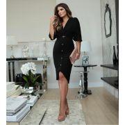 Vestido Solange Visco Piquet