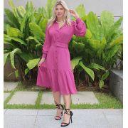 Vestido Veronica Chemise Com Cinto Viscose