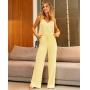 Calça Alice Jogger Pantalona Detalhe Elástico + Amarração