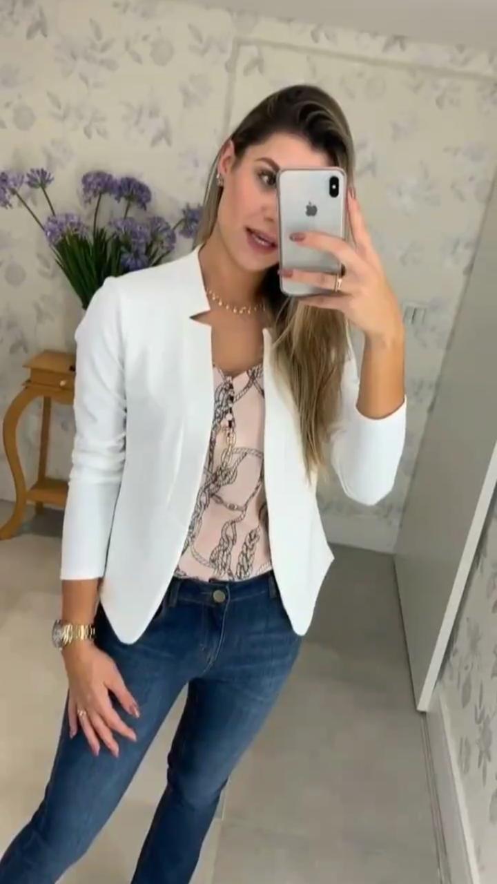 Blazer  Lidia Crepe  Cores