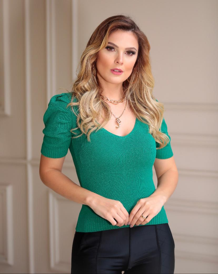 Blusa Barbara Tricot
