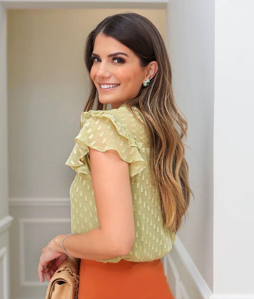 Blusa Beatriz Gola Alta
