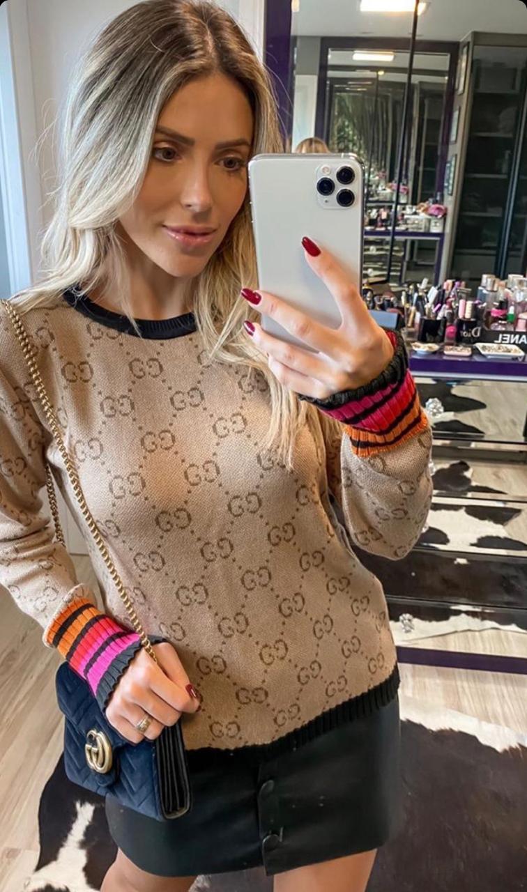 Blusa Diana  Gucci Tricot