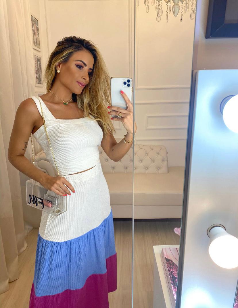 Blusa  Fernanda Top Malha Basic