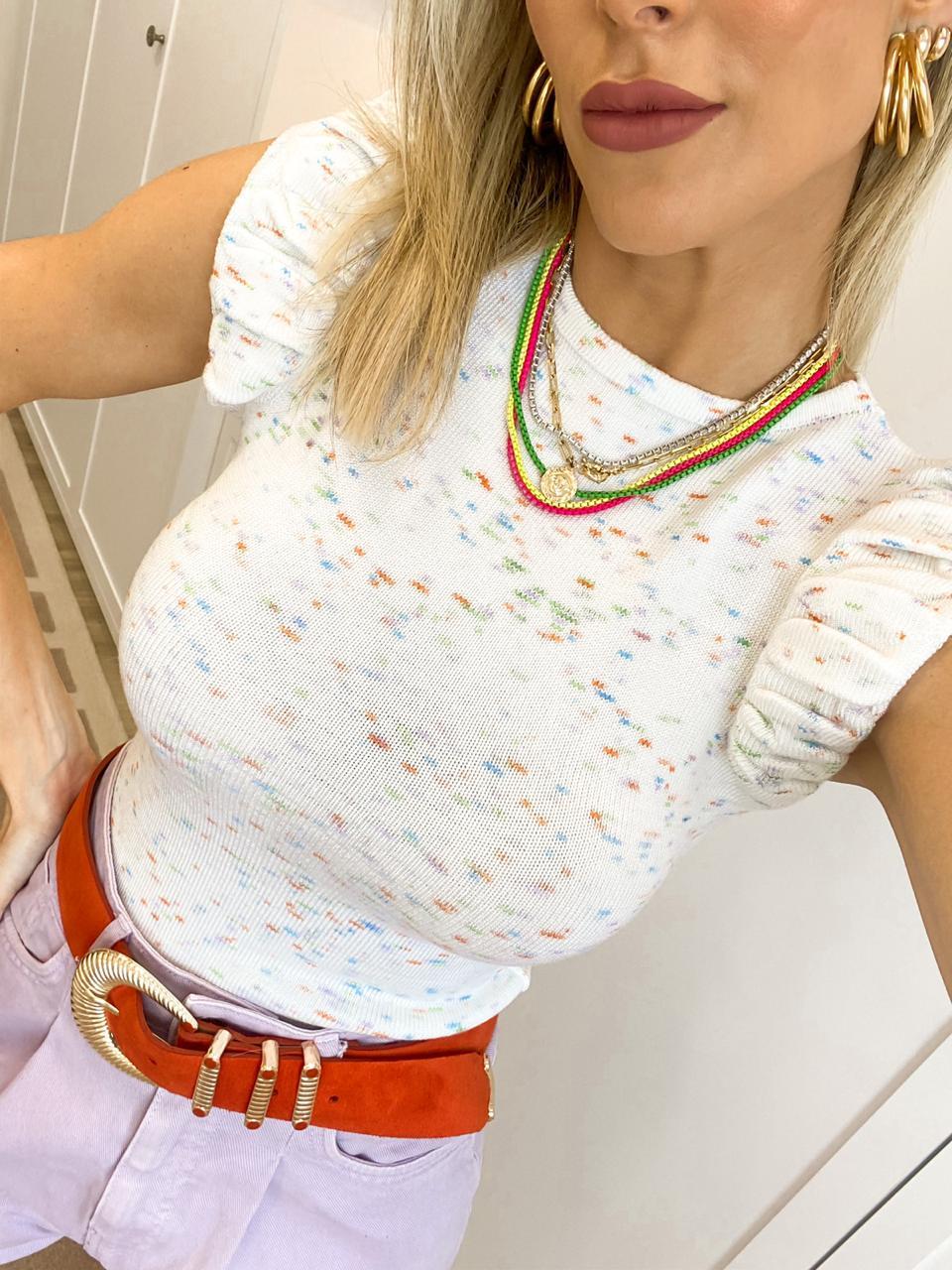 Blusa Gabriela Tricot
