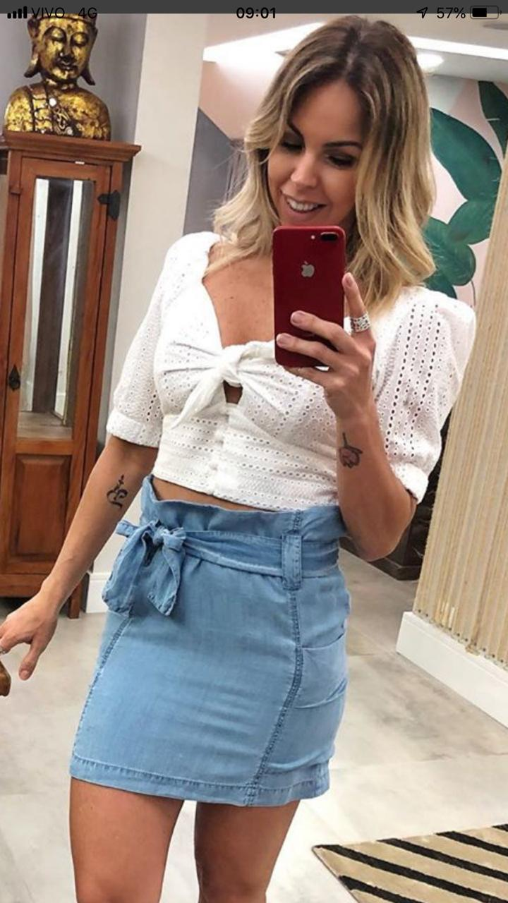 Blusa HIT Cropped Laise