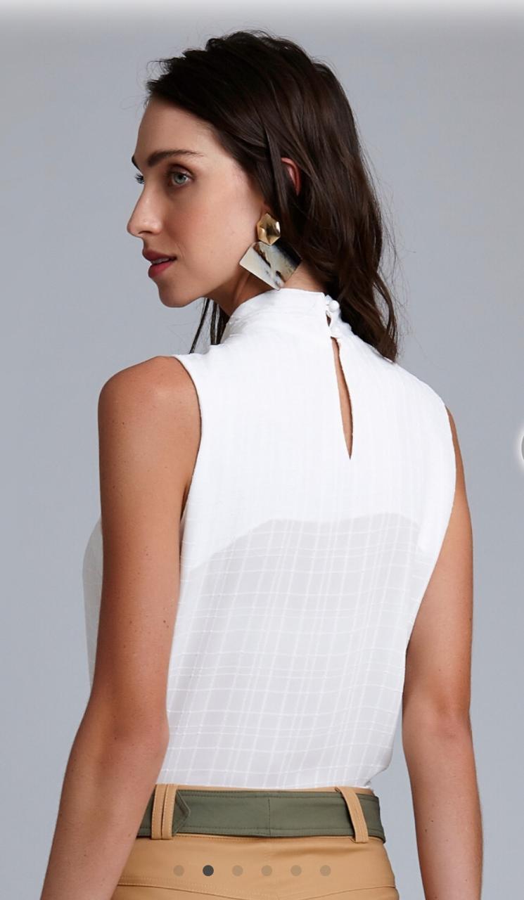 Blusa Manoela Crepe Texturizado