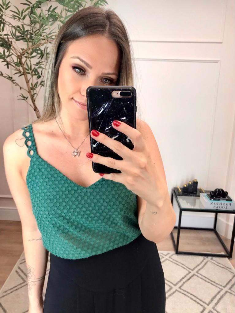 Blusa Melissa Crepe Devore