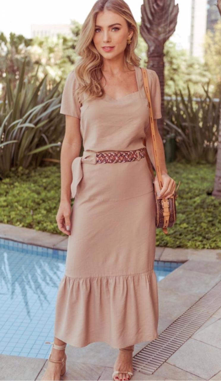 Blusa Melissa  La Chocole Decote Princesa e amarração nas costas