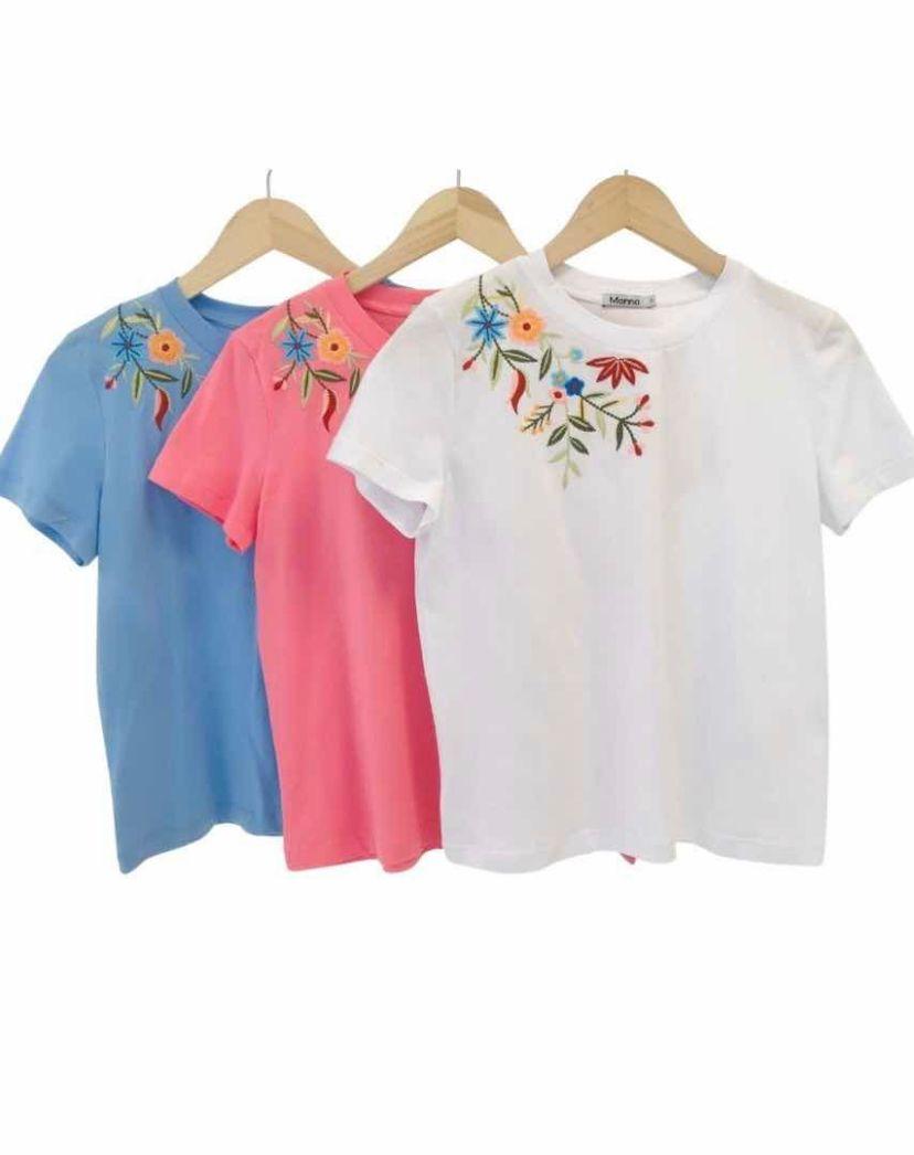 Blusa Morina T-shirt  Bordado