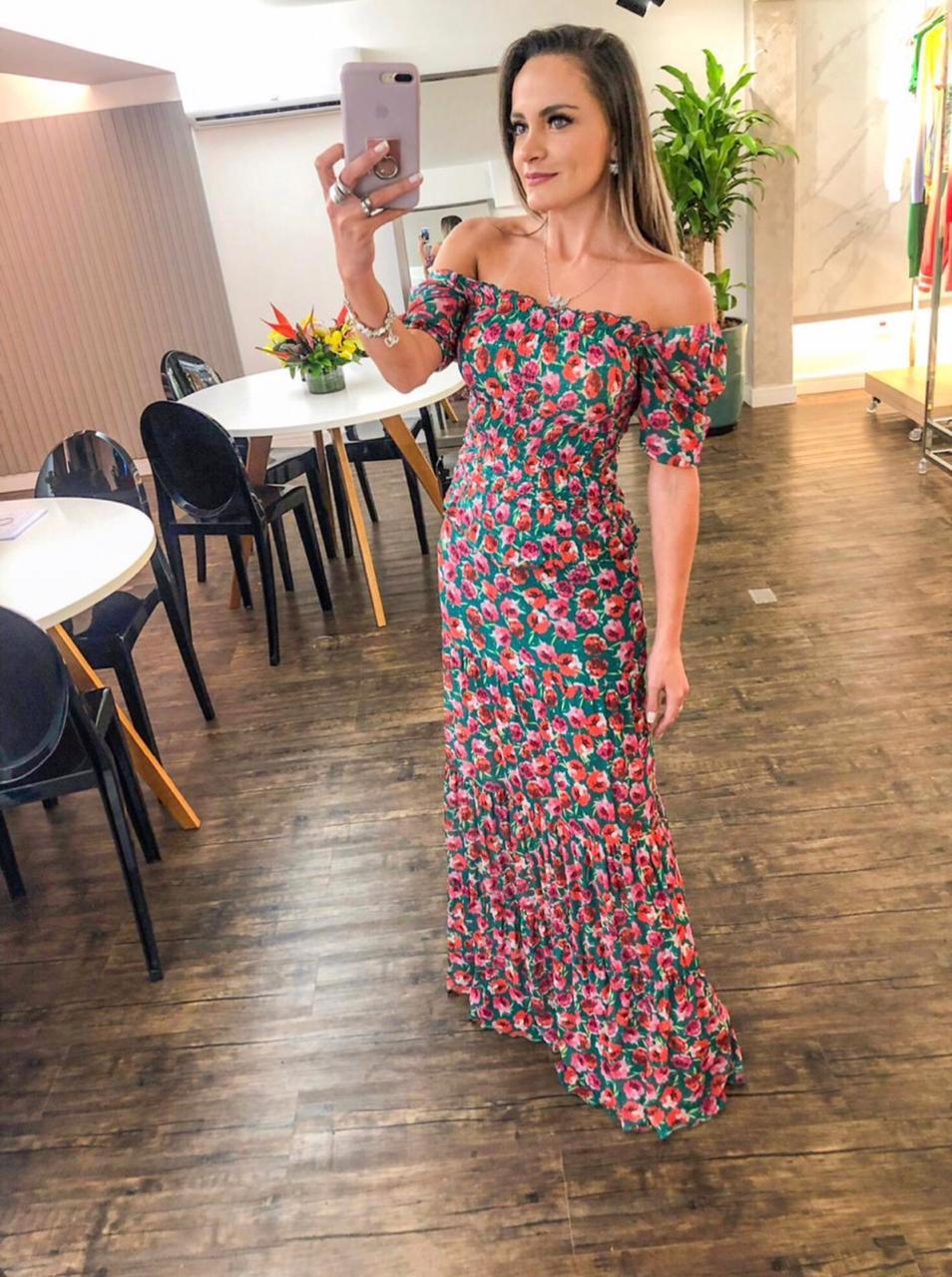 Blusa Morina Tule Latex Spring