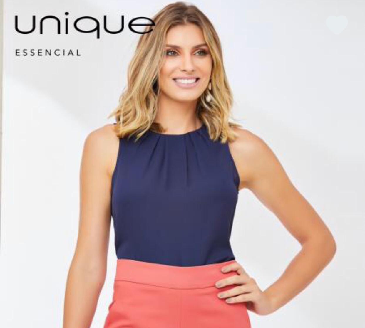 Blusa Paula Crepe Basica com Pregas