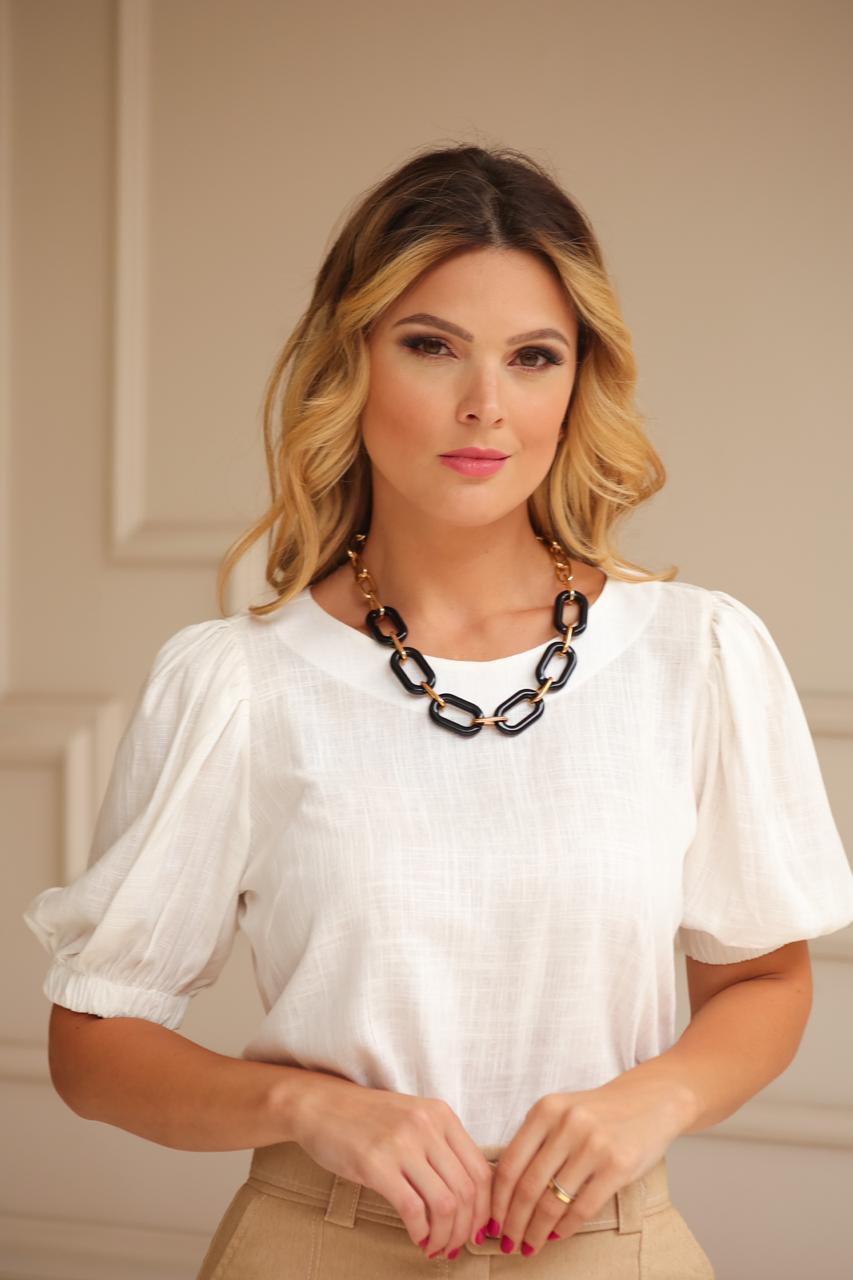 Blusa Serafina Linho