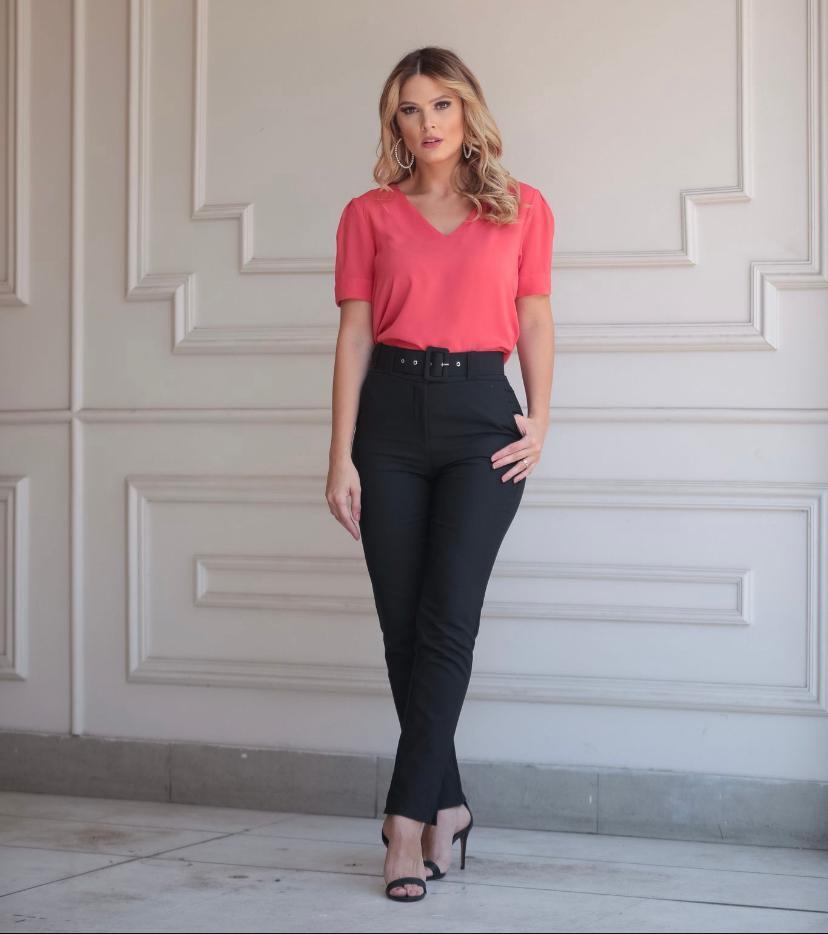Blusa Silvia Crepe